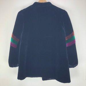 Vintage Jackets & Coats - Vintage XL Fur Coat In Black with Shoulder Detail